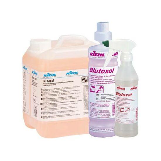 Blutoxol folyékony élelmiszeripari fertőtlenítő tisztítószer koncentrátum (IHO-által minősítve)