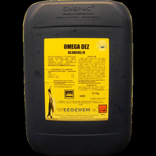 Omega Dez 12 kg fertőtlenítő hatású klóros gépi mosogatószer 12 kg