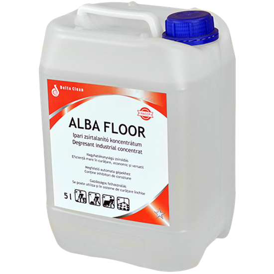 Alba Floor 5 kg ipari zsírtalanító koncentrátum