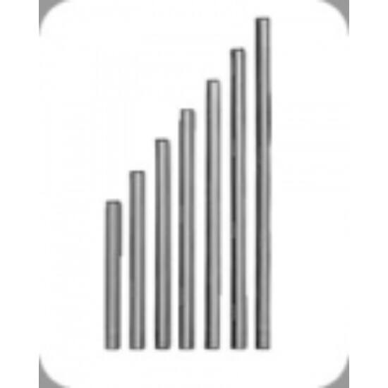 INOX gumibetétes lehúzó 25,30,35,40,45,50,55 cm